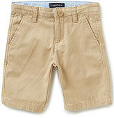 Nautica Big Boys 8-20 Flat-Front Shorts