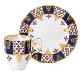 Royal Albert 100 Years 1900 2-Piece Set, Mug & Plate -Regency Blue
