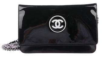 Chanel Patent CC Wallet On Chain