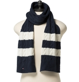 Tommy Hilfiger Cable Knit Scarf
