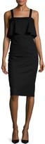Ava & Aiden Women's Linen Overlay Sheath Dress