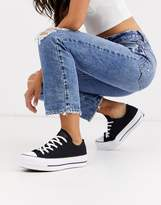 Converse Black Chuck Taylor Platform All Star Renew Recycled Sneakers