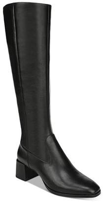 Via Spiga Women's Sanora Block Heel Tall Boots