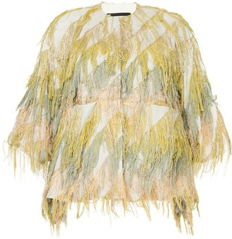 Muller of Yoshio Kubo Muller Of Yoshiokubo Flow fringe jacket
