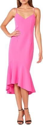 Bardot Lisandra High/Low Ruffle Dress