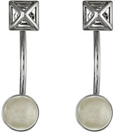 Rebecca Minkoff Two Part Pyramid Post Earrings