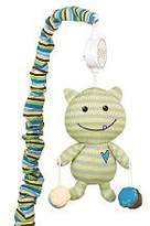 CoCalo Musical Mobile Peek A Boo Monsters, Blue/Brown/Green