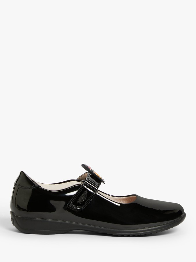 Lelli Kelly Kids Children's Bonnie Mary Jane School Shoes, Black Patent