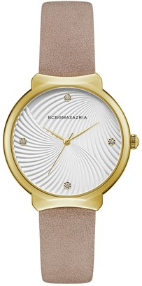 BCBGMAXAZRIA Women's Classic Quartz Analog Watch, 36mm