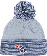 New Era Women's Tennessee Titans Snow Crown Redux Knit Hat