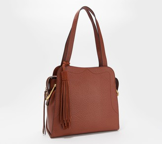 Vince Camuto North/South Leather Tote - Tal