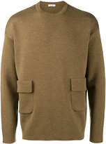 Valentino flap pocket jumper