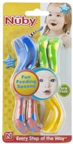 Nuby Spoon and Fork - Multicolor