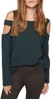 Sanctuary Women's Park Slope Cold Shoulder Sweatshirt