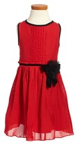 Kate Spade Toddler Girl's Pleated Chiffon Dress