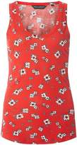 Dorothy Perkins Red Ditsy Print Vest