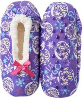 Disney Disney's Frozen Girls 4-16 Elsa & Anna Fleece-Lined Slippers