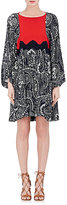 Chloé WOMEN'S FLORAL GAUZE SHIFT DRESS