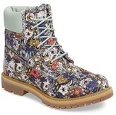 Timberland Women's 6 Inch Premium Floral Print Boot