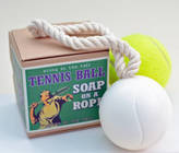 Me and My Sport Tennis Ball Soap On A Rope