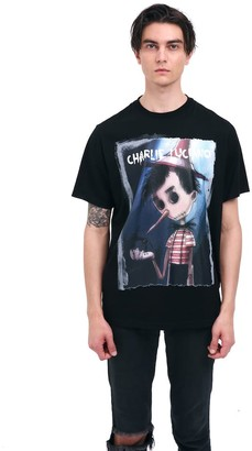Charlie Luciano Pinocchio Unisex Print T-Shirt