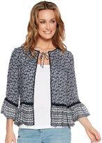 M&Co Crochet trim lightweight jacket