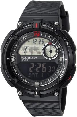 Casio Men's 'Twin Sensor' Quartz Resin Casual Watch