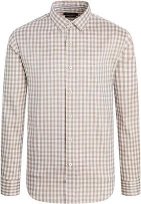 Bugatchi Men's Plaid Long-Sleeve Sport Shirt