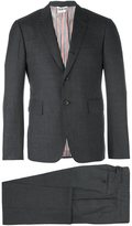 Thom Browne two piece suit - men - Cupro/Wool - 4