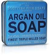 Scottish Fine Soaps Argan Oil Soap In Tin 100 g