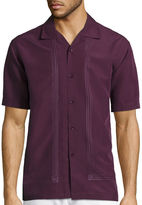 HAVANERA The Havanera Co. Short-Sleeve Embroidered Button-Front Shirt
