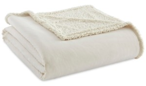 Shavel Micro Flannel to Sherpa King Blanket Bedding