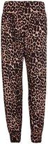 Purple Hanger Curvy PurpleHanger Women's Ali Baba Harem Pants Plus Size Leopard Print 8-10