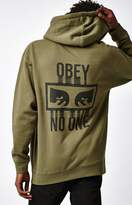 Obey No One Pullover Hoodie