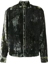 Y / Project velvet shirt