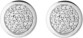 Links of London Diamond essentials sterling silver and diamond stud earrings