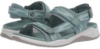 Ecco Sport X-Trinsic Strap Sandal (Trellis/Eggshell Blue) Women's Sandals
