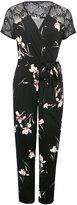 M&Co Petite floral print jumpsuit