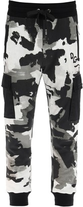 Dolce & Gabbana Camouflage Print Track Pants