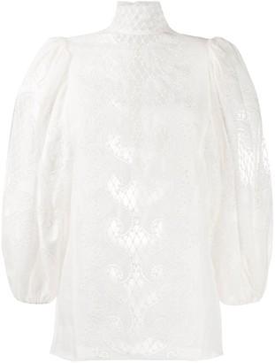 Zimmermann Long-Sleeved Blouse