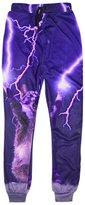 Uideazone 3D Galaxy Sweatpants Cool Hip Hop Pants for Men