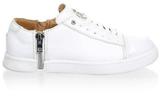 Diesel S-Nentish Zip-Around Leather Sneakers