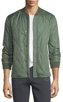 J Brand Quilted Bomber Jacket