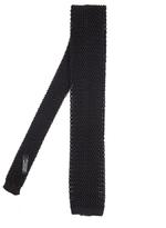 Nick Bronson Plain Knit Silk Tie