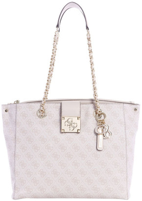GUESS SG747623MOTIDDB Logo City Double Handle Tote Bag