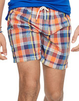 Polo Ralph Lauren Plaid Traveler Swim Shorts
