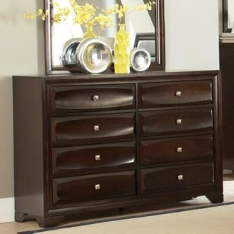 Wildon Home Jaxson 8 Drawer Double Dresser