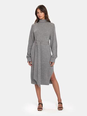 AllSaints Roza Jumper Midi Dress
