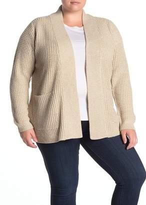 Modern Designer Shawl Collar Cardigan (Plus Size)