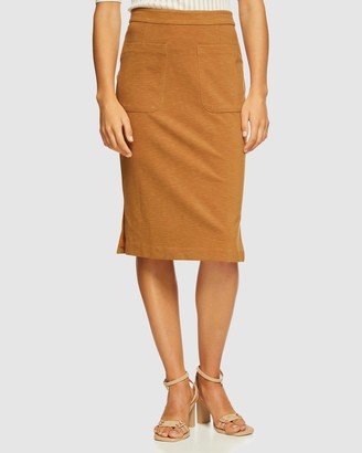 Oxford Katie Patch Pocket Skirt